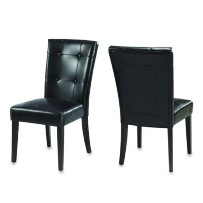Belicca Dining Chairs in Black (Set of 2)
