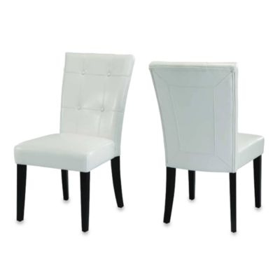 Belicca Dining Chairs in White (Set of 2)