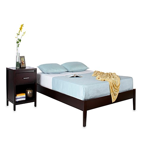 Navett King Platform Bed in Espresso