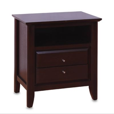 Carora Coco Two-Drawer Nightstand