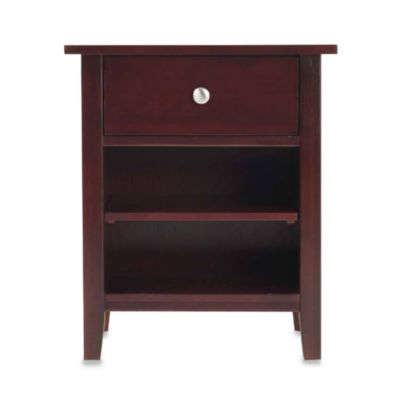 Novela Cordovan One-Drawer Nightstand