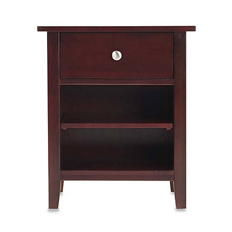 Novela Cordovan One-Drawer Night Stand