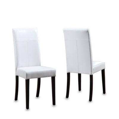 Urbani White Chairs (Set of 2)