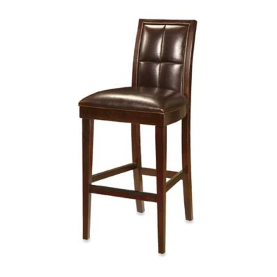 Helayna Coffee Bean Biscuit Back Bar Stools - Set of 2
