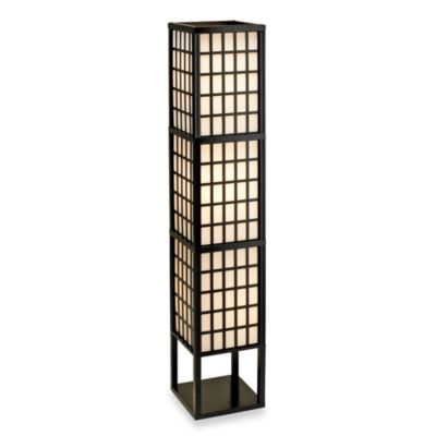 Buy adessor black floor lamp from bed bath beyond for Etagere floor lamp bed bath and beyond