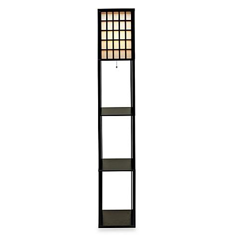 Buy adesso middleton shelf floor lamp from bed bath beyond for Shelf floor lamp bed bath and beyond