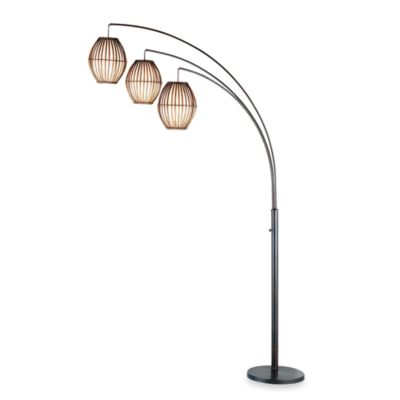 Adesso® Maui Arc Lamp in Antique Bronze
