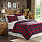 MacLachlan Plaid Down Alternative Microfiber Comforter Set