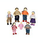 KidKraft® Caucasian Doll Family of 7