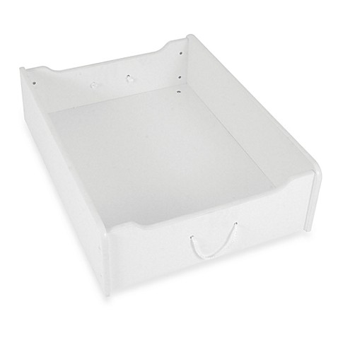 KidKraft® Train Trundle Drawer with Casters in White