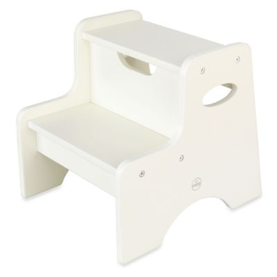 KidKraft® Two Step Stool in White