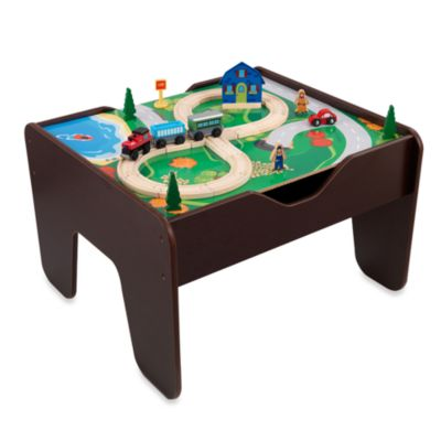 KidKraft® 2-in-1 Activity Table with Board in Espresso