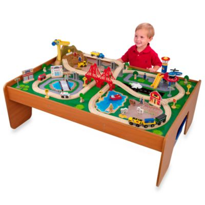 KidKraft® Ride Around Town Train Set with Table