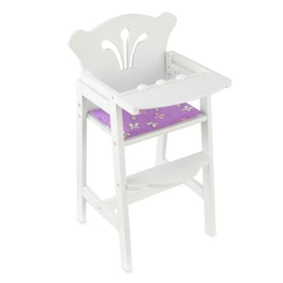 KidKraft® Lil-Foot Doll High Chair