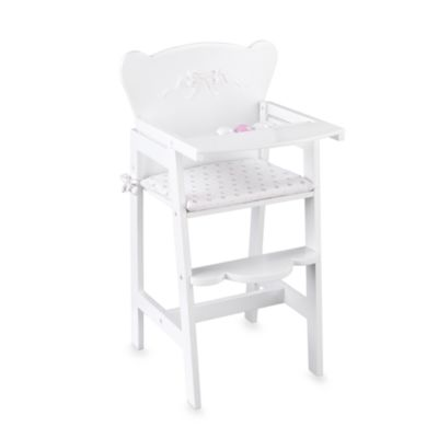 KidKraft® Tiffany Bow Lil-Foot Doll High Chair