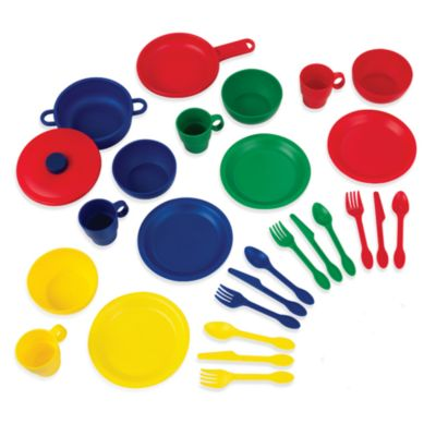 KidKraft® 27-Piece Cookware Play Set in Primary