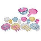 KidKraft® 27-Piece Cookware Play Set in Pastel