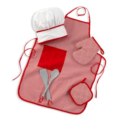 KidKraft® Tasty Treats Chef Acessory Set in Red