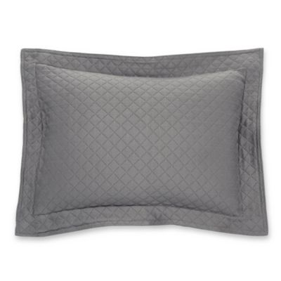 Lamont Home™ Diamante Matelasse Boudoir Pillow in Grey