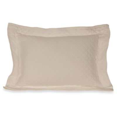 Diamante Matelasse Boudoir Pillow in Ivory