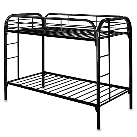 Black Twin Bunk Bed Buybuy Baby