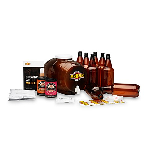 Mr. Beer® Premium Gold Beer Brewing Kit