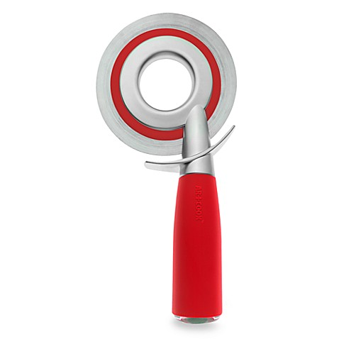 Art and Cook Zinc Positive Collection Pizza Wheelie in Red