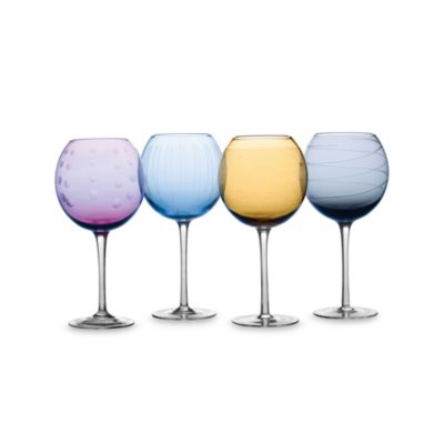 Mikasa® Cheers Color 24 1/2-Ounce Balloon Goblets (Set of 4)
