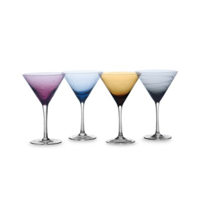 Mikasa® Cheers Color 10-Ounce Martini (Set of 4)