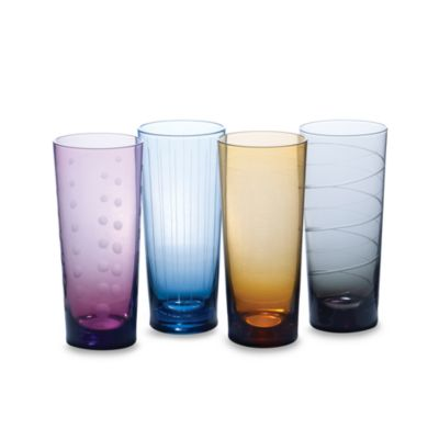 Mikasa® Cheers Color 19 3/4-Ounce Highball (Set of 4)