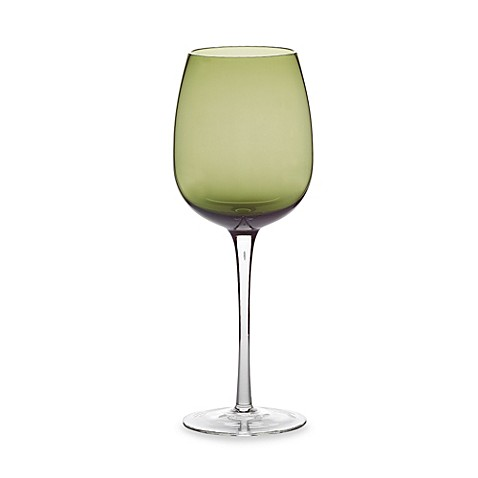 Purple Luster 18.5-Ounce White Wine Glass (Set of 4)