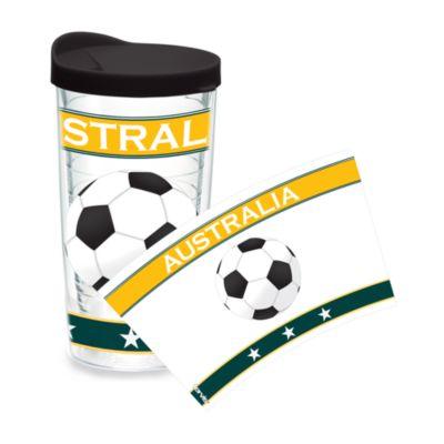 Tervis® Soccer Wrap Australia 16-Ounce Tumbler