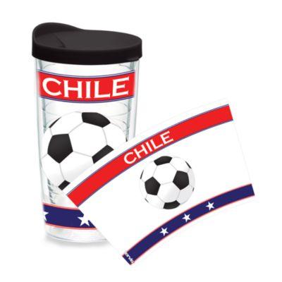 Tervis® Soccer Wrap Chile 16-Ounce Tumbler