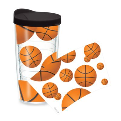 Tervis® Basketball Wrap 16-Ounce Tumbler