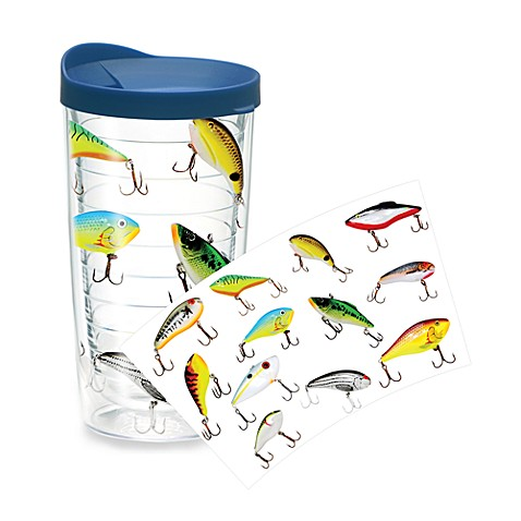 Tervis fish lures wrap 16 ounce tumbler for Closest fish store