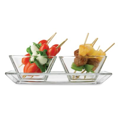 Libbey® Just Tasting 3-Piece Appetizer Set