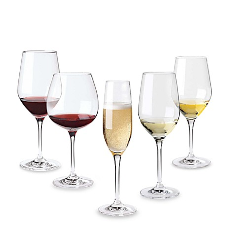 Wine Enthusiast Fusion Classic Wine Glasses (Sets of 4)