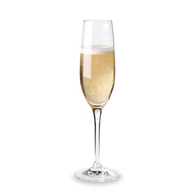 Wine Enthusiast Fusion Classic Champagne Flutes (Set of 4)