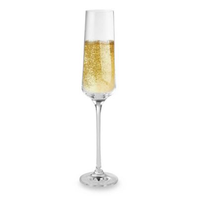 Wine Enthusiast Fusion Infinity Champagne Flutes (Set of 4)