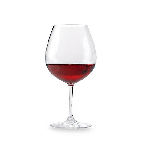 Wine Enthusiast Break-Free PolyCarb Pinot Noir Wine Glasses (Set of 4)