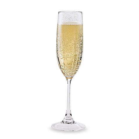 Wine Enthusiast Break-Free PolyCarb Champagne Flutes (Set of 4)