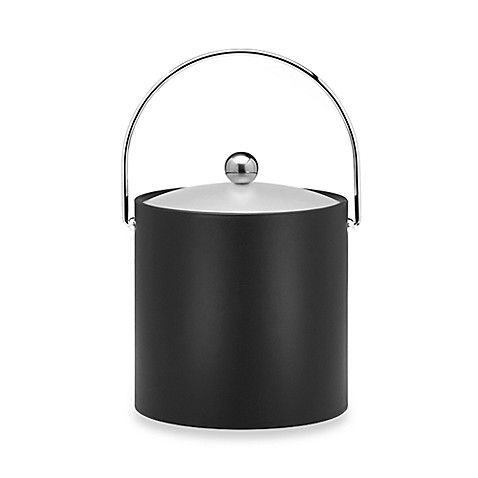 Kraftware™ Bartender's Choice 3-Quart Ice Bucket in Black