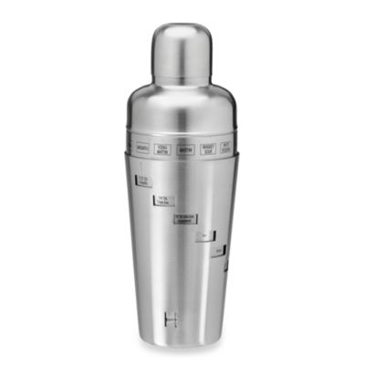 Kraftware™ 32-Ounce Cocktail Shaker in Brushed Stainless Steel