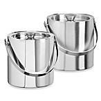 Kraftware™ Stainless Steel 1.5-Quart Insulated Ice Bucket