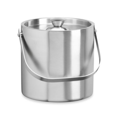 Kraftware™ Brushed Stainless Steel 3-Quart Ice Bucket