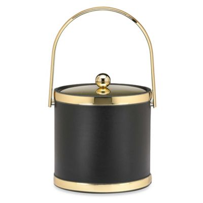 Kraftware™ Sophisticates 3-Quart Ice Bucket with Metal Cover in Polished Gold