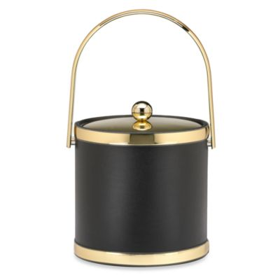 Kraftware™ Sophisticates 3 qt. Ice Bucket with Metal Cover in Polished Gold