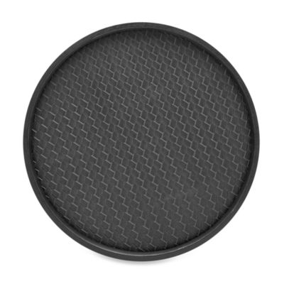 Kraftware™ San Remo Deluxe 14-Inch Serving Tray in Eclipse Black