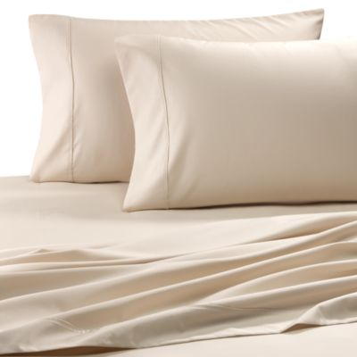 Easy-Care Solid King Sheet Set in Ivory