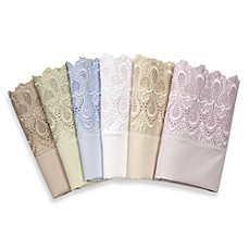 Easy-Care Lace Sheet Set, 600 Thread Count